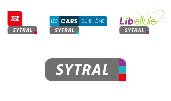 SYTRAL - Nouveaux logos