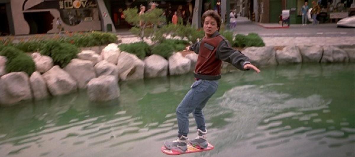 skate volant retour vers le futur